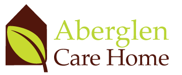 Arberglen care home logo with link to website